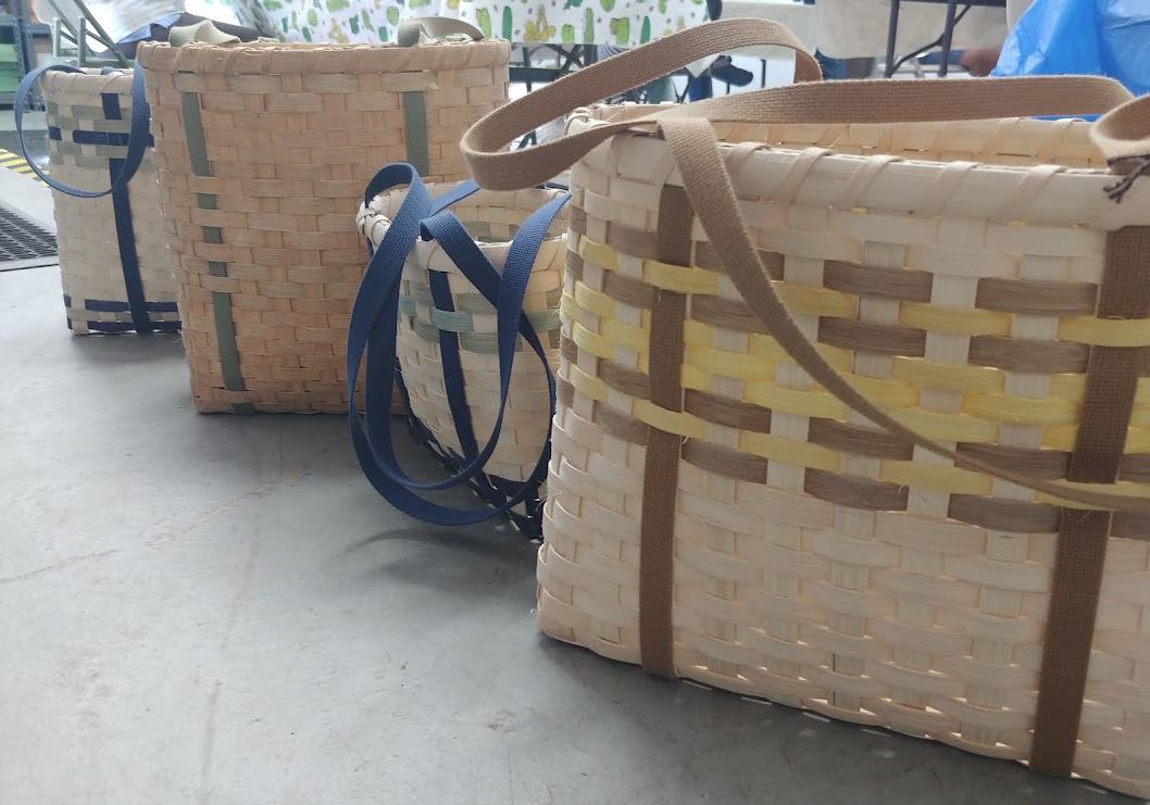 Intro to Basket Weaving with Lorraine Felker - Red Stone Glen